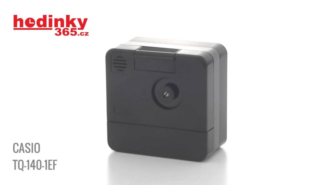 da8b8aa391f Casio TQ-140-1EF - YouTube