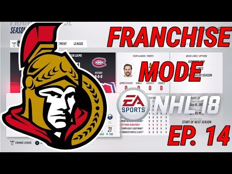 TRADING MASTERMIND/ YEAR 6 OFFSEASON - NHL 18 - Franchise Mode - Ep. 14 - Ottawa