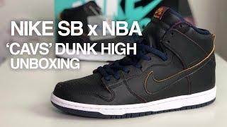 NBA x Nike SB Dunk High Pro 'Cleveland