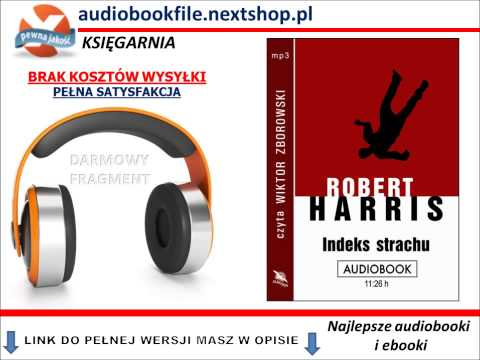 INDEKS STRACHU - Robert Harris -  AudioBook, do słuchania w podróży, MP3