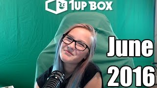 1UP Box Unboxing June 2016 Survival Edition