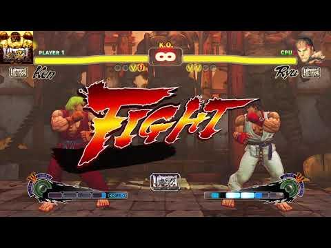 ULTRA STREET FIGHTER IV Ken vs Ryu |