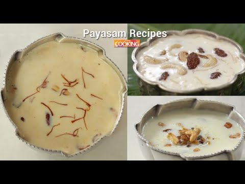 Payasam recipes  Ventuno Home Cooking