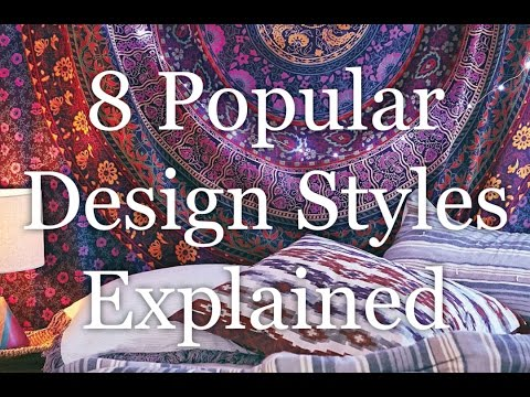 interior design styles 8 popular types explained hd - Different Types Of Interior Design Styles