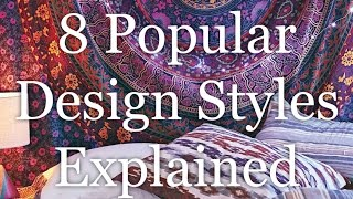 Interior Design Styles 8 Popular Types Explained | Hd