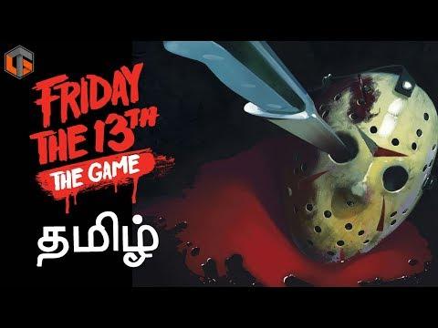 ஃப்ரைடே தி 13th Friday the 13th Game Horror Multiplayer Live Tamil Gaming