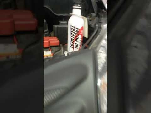 Honda Freed using designated Engine Oil Treatment