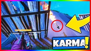 LE KARMA A FAILLI ME RATTRAPER SUR CE TOP 1!! FORTNITE