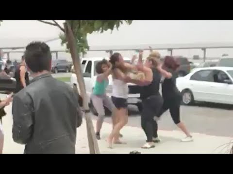 Tahquitz High School mothers brawl 5/31/17.