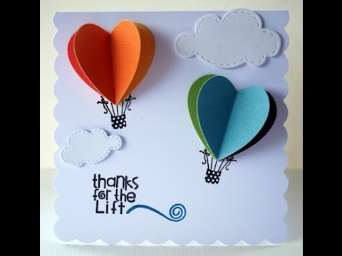 HOW TO MAKE A BEAUTIFUL GREETING CARD Birthday Card Idea 3