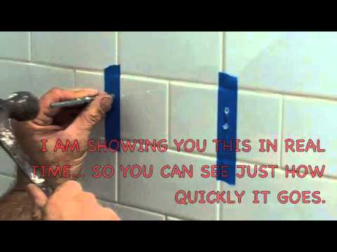 how to drill through bathroom tiles how to drill a in ceramic tile 25381
