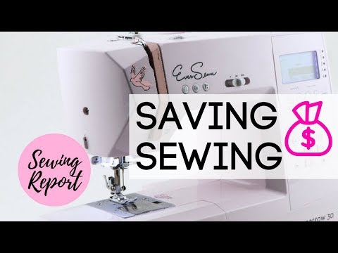 Is The Cost of Sewing Too Expensive? Money Saving Tips | LIVE SHOW | SEWING REPORT