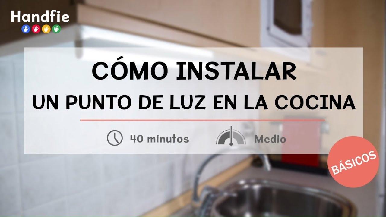 C mo instalar un punto de luz led en la cocina handfie for Como instalar una cocina integral pdf
