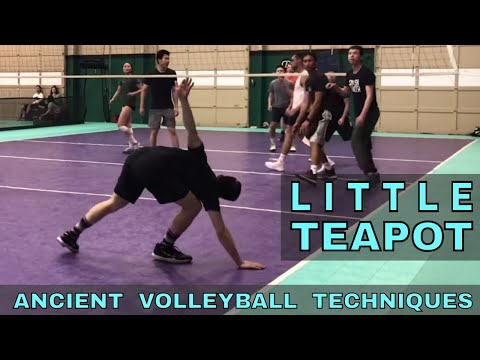 LITTLE TEAPOT - Ancient Volleyball Techniques #23 (Volleyball Bloopers)