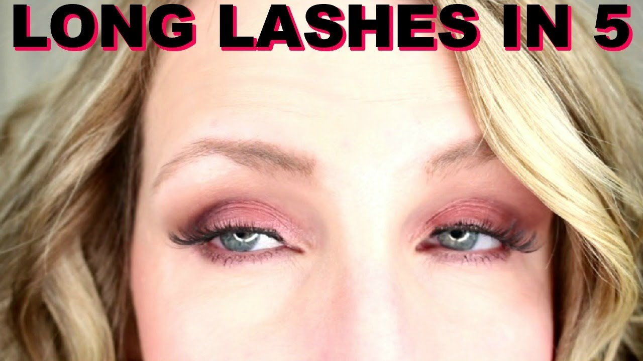 QUICK AND EASY WAY TO APPLY FALSE LASHES TIPS AND TRICKS ...