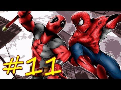 Прохождение Spider-man Shattered Dimensions эпизод 11 [Ультимейт] ДЕДПУЛ часть 1