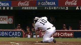 初回、森友哉は自身が放った打球が膝に直撃し崩れ落ちる。自力で立つこ...