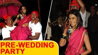 Genelia Dsouzas Pre-Wedding Party