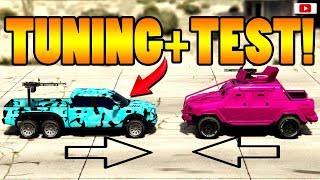 😅🛠Neuer Schnellster Geschütz Pick Up! CARACARA Tuning + Test!😅🛠 [GTA 5 Online Super Sport Update]