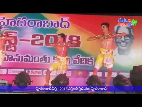 Perini Classical Dance performance by Suryapet // hydfest 2018 Ntr stadium