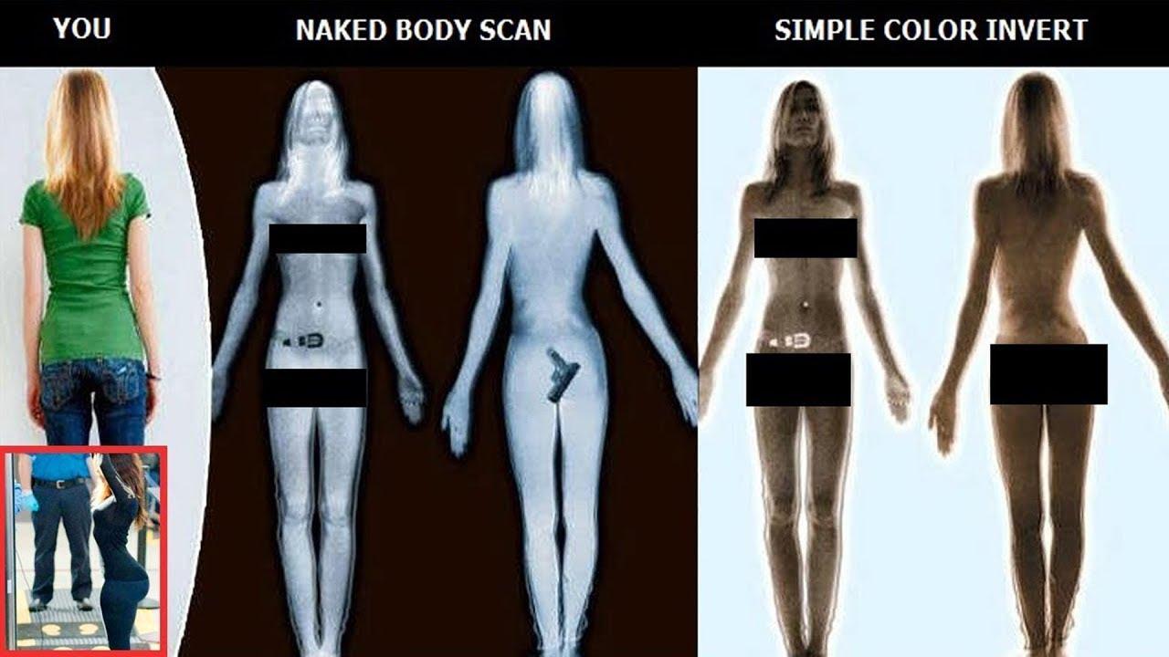Penis body scan image