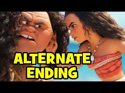 Moana ALTERNATE ENDING: How MAUI Almost Ruined MOANA!