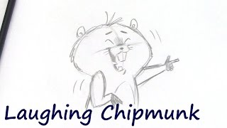 How to Draw a Laughing Chipmunk with Christopher Hart
