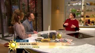 Därför firar skåningar Mårten gås - Nyhetsmorgon (TV4)