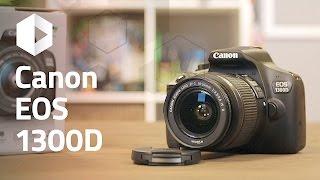 anlisis CANON EOS 1300D. Review en espaol
