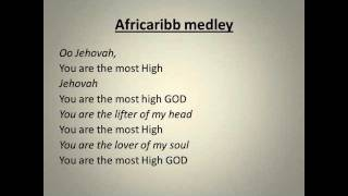 Official lyrics (Jehovah you are the most high God new version)