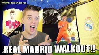 REAL MADRID WALKOUT & GEGARANDEERD 81+ PACKS!! FIFA 18 NEDERLANDS