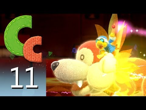 Yoshi's Woolly World – Episode 11: Bunson the Hot Dog's Castle