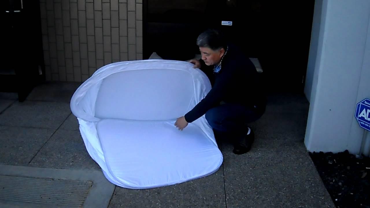 sc 1 st  YouTube & How to fold a larger photo light tent / light box tutorial - YouTube Aboutintivar.Com