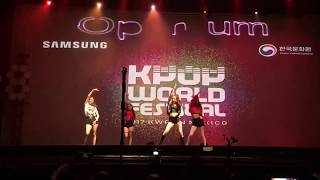 Black Pink - Whistle cover by Optimum / K-pop World Festival Mexico 3rd place