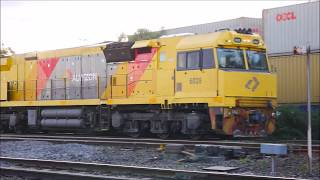 Trains Around Victoria - Footscray | P's, NR's, 81's, LPD's 602's N's | 22/7/17