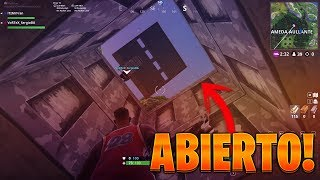 ¡EL BUNKER SECRETO ESTÁ ABIERTO! (Fortnite: Battle Royale) [Wailing Woods]