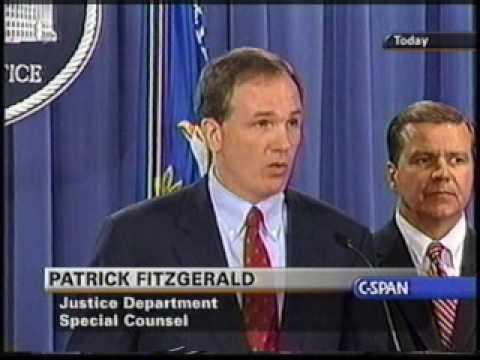 Archive: Patrick Fitzgerald CIA Leak Press Conference pt 3