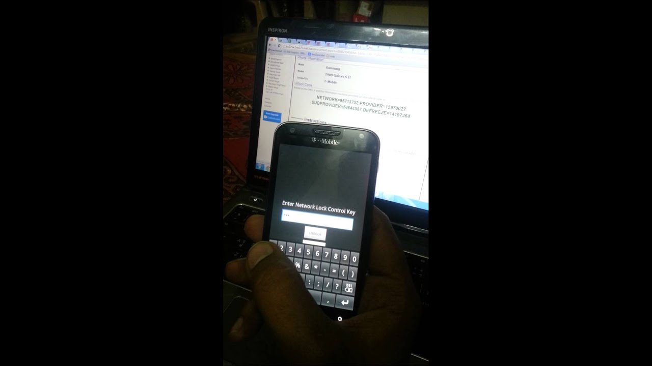 Unlock Samsung Galaxy S2 T Mobile