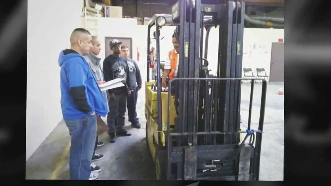 Aaa Fork Lift Forklift Training In Riverside Ca Youtube