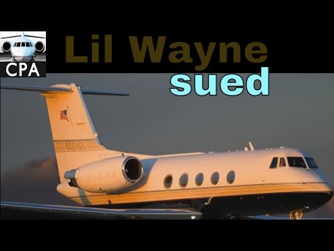 Lil Wayne sued for private jet debt and attorney fees!