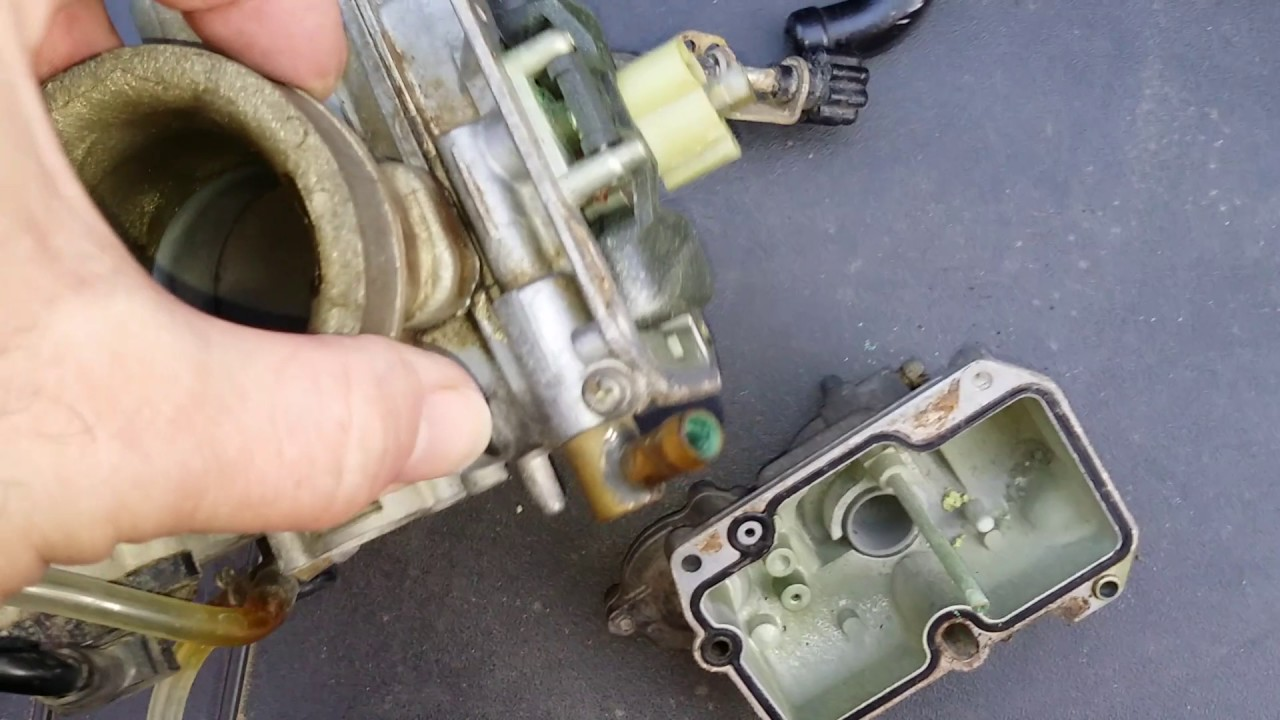 ktm 525 exc poor running cleaning carburettor [ 1280 x 720 Pixel ]