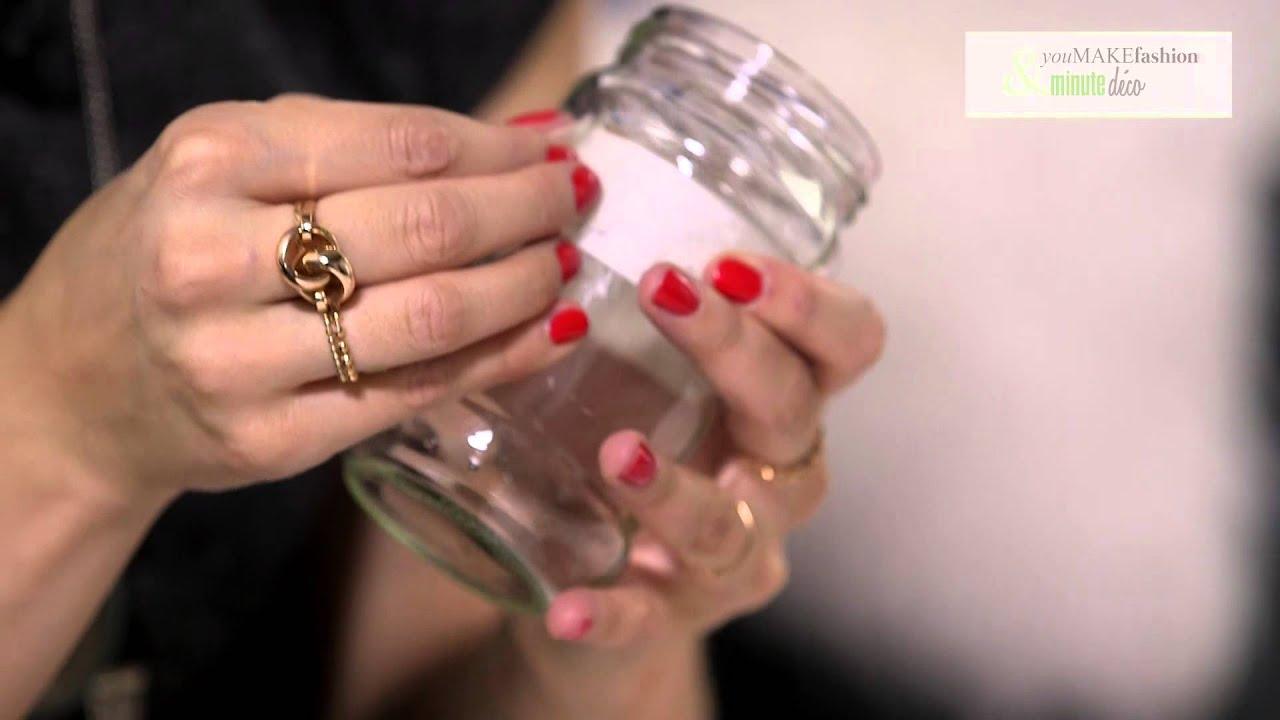 Diy customiser ses bocaux pour en faire des vases originaux avec youmakefas - Que faire avec une vieille baignoire ...