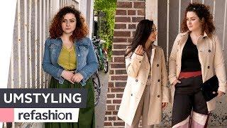UMSTYLING: Der Vorher-Nachher-Look mit Paula in Hamburg ~ refashion | OTTO