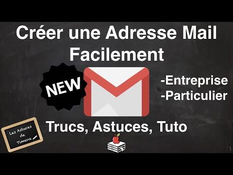 Créer une Adresse Mail Facilement Entreprise & Particulier Conseil et Tuto - LADT