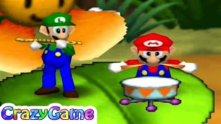Mario Party 2 - All 2 vs 2 Minigames Gameplay
