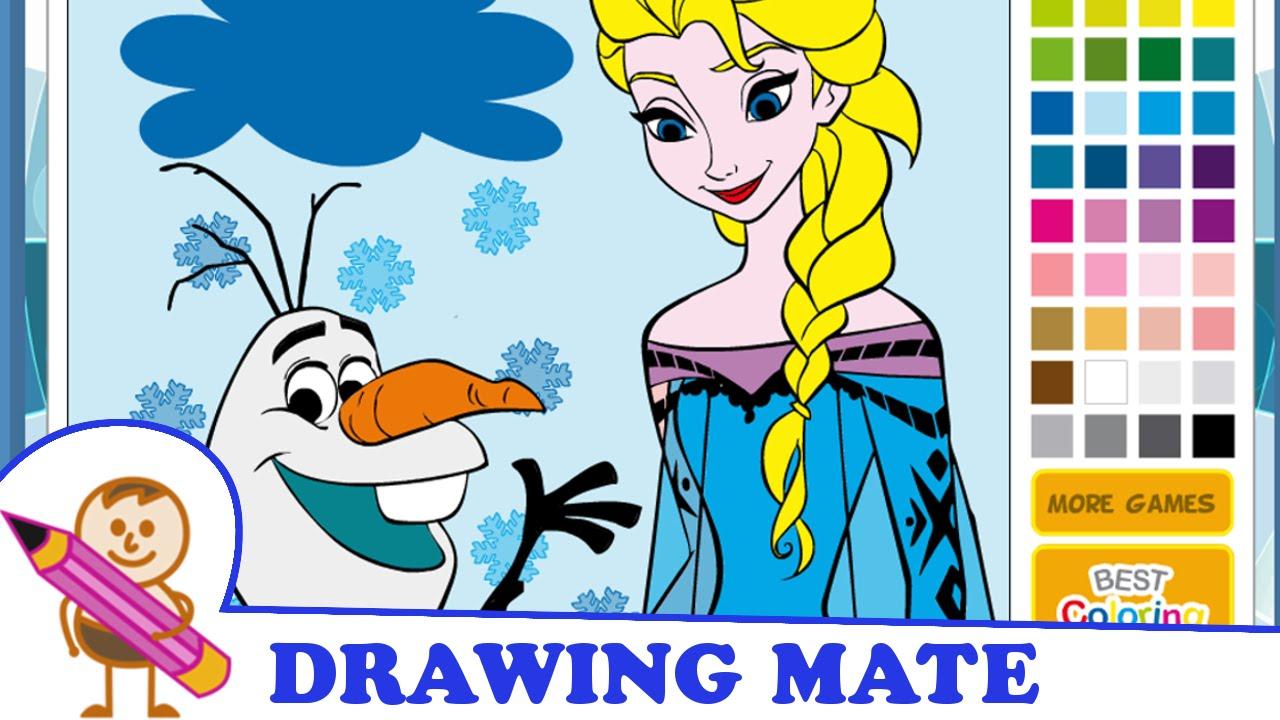 Frozen Coloring Pages For Kids Kraina Lodu Kolorowanki Malowanki Dla Dzieci