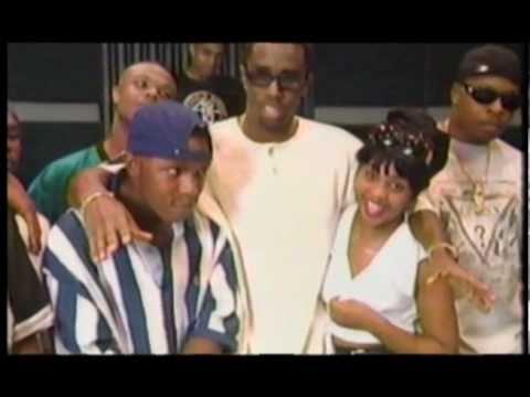 Lil Kim, Puff Daddy & Junior Mafia in 1995 (Rare)