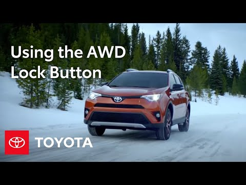 toyota how to rav4 and highlander all wheel drive awd lock button toyota youtube. Black Bedroom Furniture Sets. Home Design Ideas