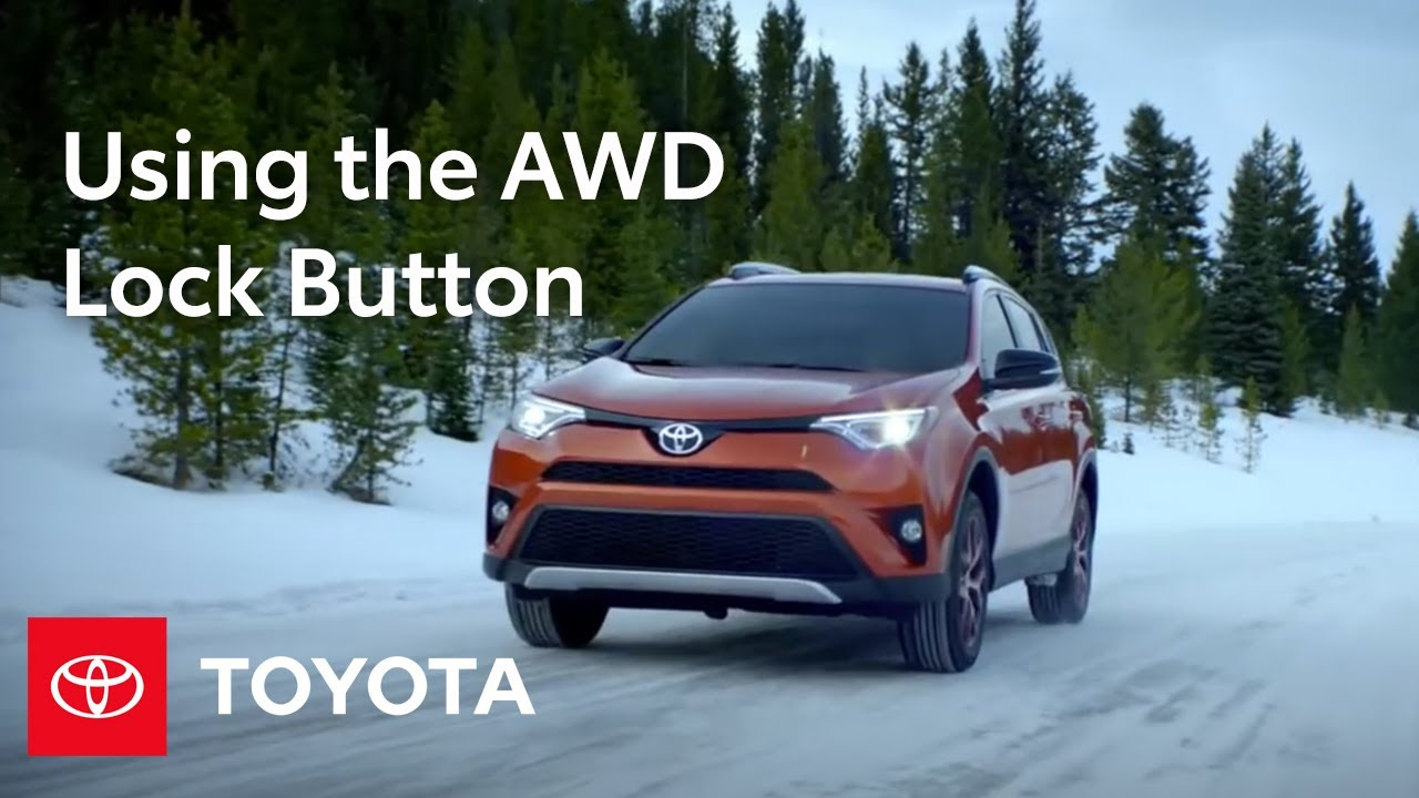 Toyota How-To: RAV4 and Highlander All-Wheel Drive (AWD) Lock Button | Toyota
