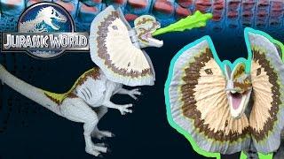 Opening: Jurassic World DILOPHOSAURUS Growler